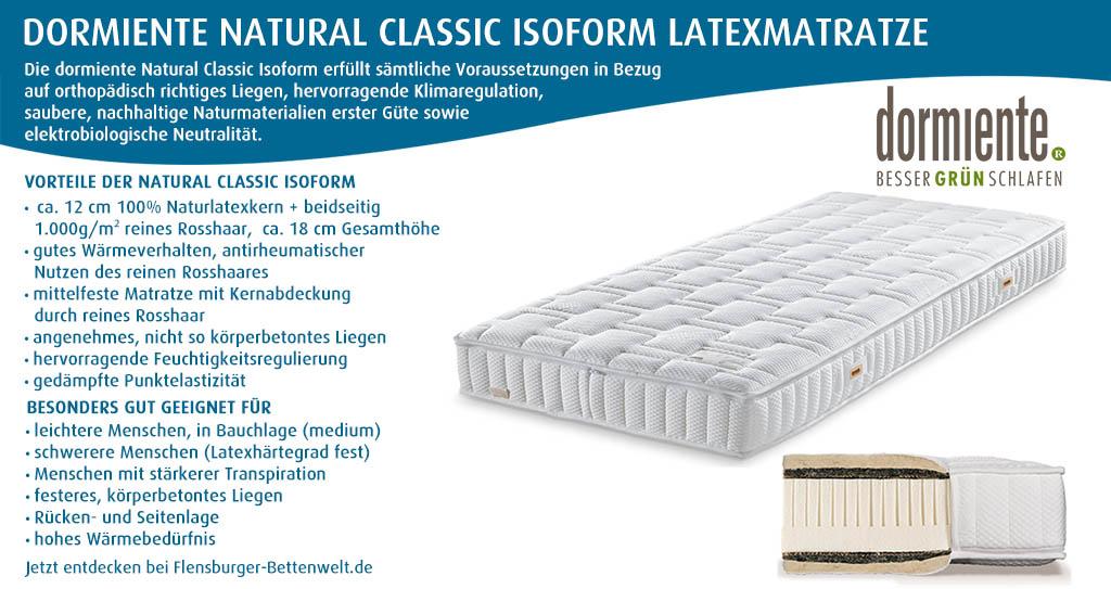 dormiente-Natural-Classic-Isoform-Latexmatratze-Flensburger-Bettenwelt