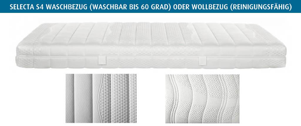Selecta-S4-Waschbezug-waschbar-oder-Wollbezug-reinigungsfaehrig