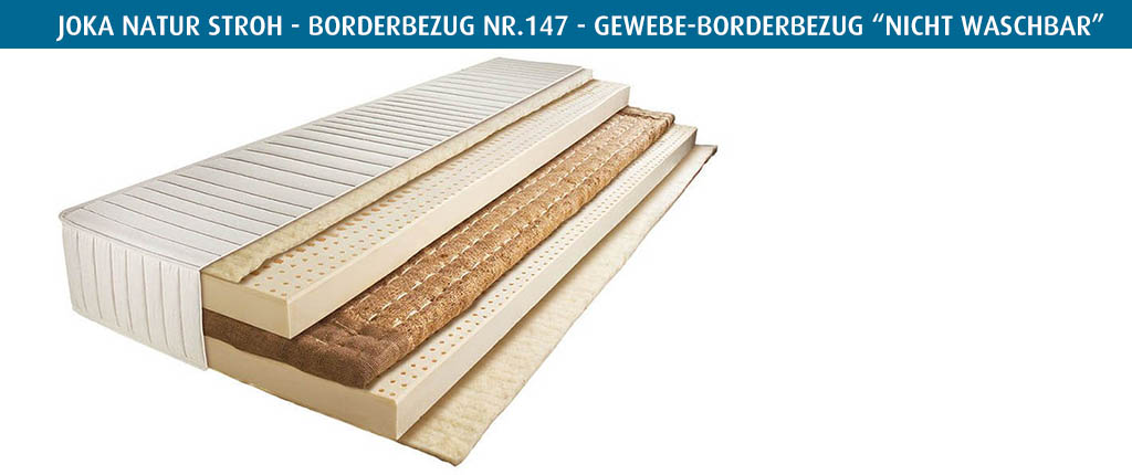 Joka-Natur-Matratze-Stroh-Borderbezug-Nr-147-vierseitiger-Reissverschluss-nicht-waschbar