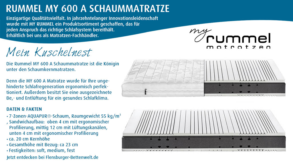 Rummel-MY-600-A-Schaummatratze-kaufen-Flensburger-Bettenwelt
