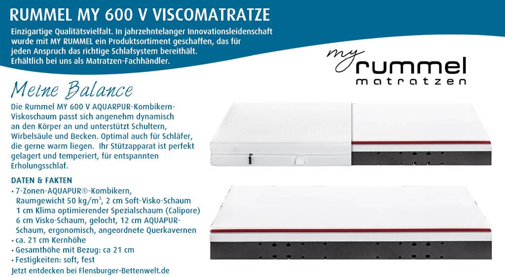 Rummel-MY-600-V-Viscomatratze-kaufen-Flensburger-Bettenwelt