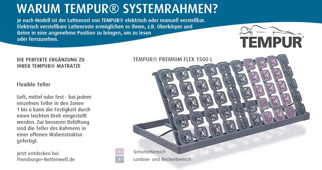 Tempur-Premium-Flex-1500-L-Lattenrost-klappbar-links