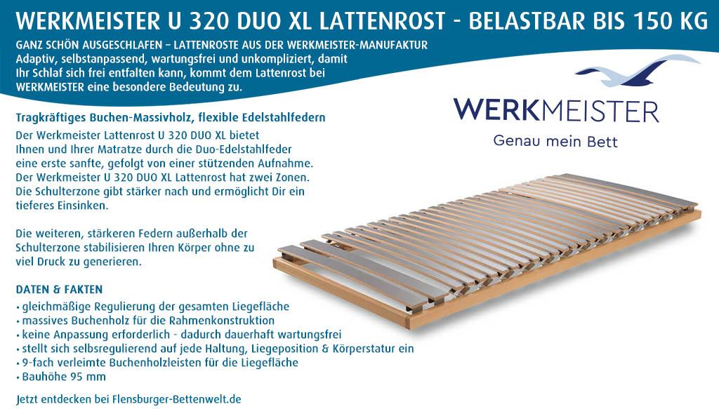 Werkmeister-U-320-Duo-XL-Lattenrost-kaufen-Flensburger-Bettenwelt