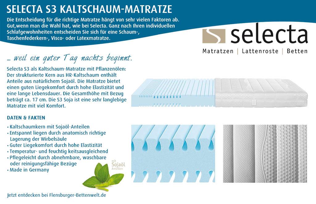 Selecta-S3-Kaltschaum-Matratze-kaufen-Flensburger-Bettenwelt