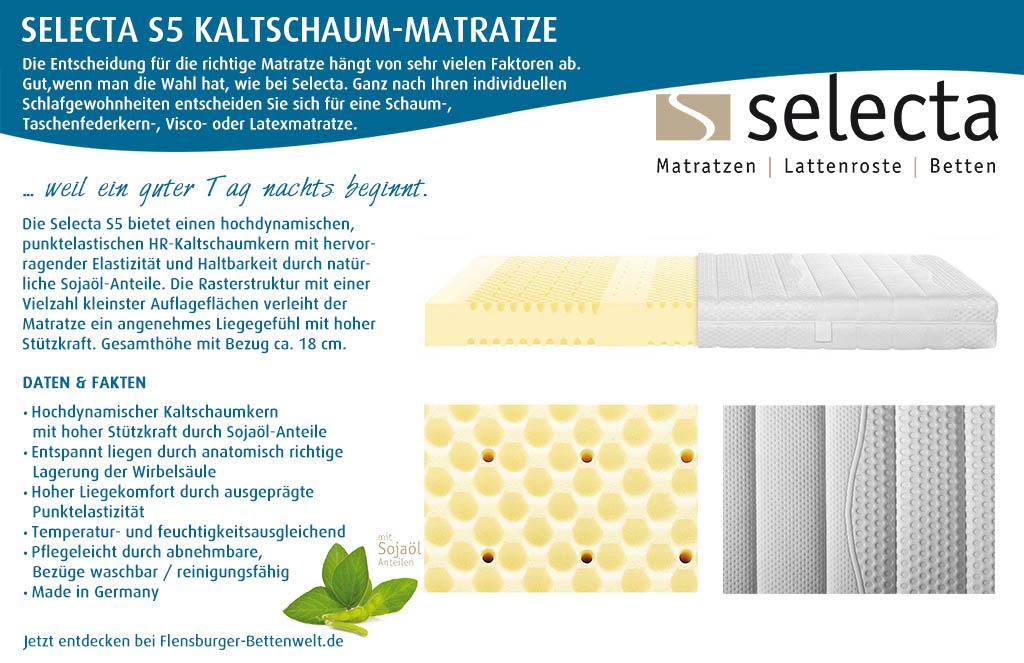 Selecta-S5-Kaltschaum-Matratze-kaufen-Flensburger-Bettenwelt