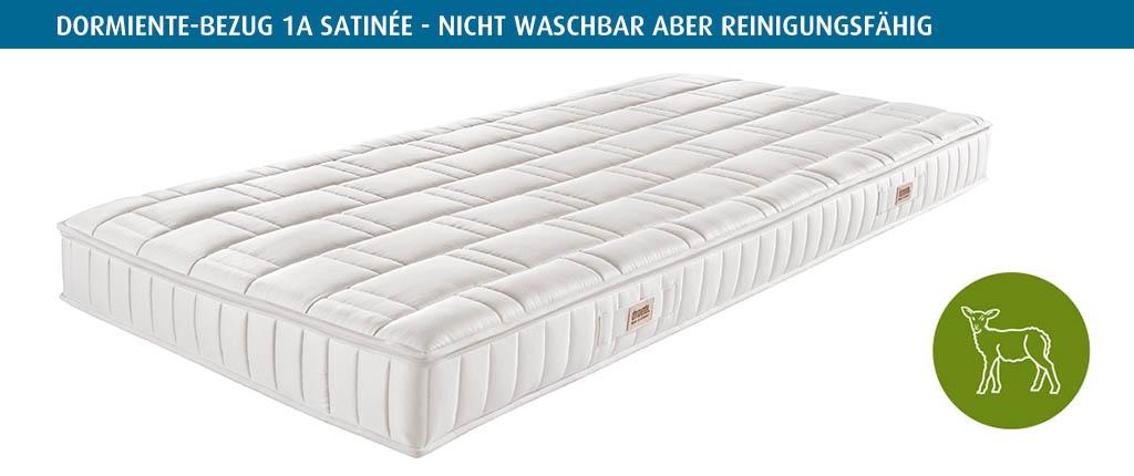 dormiente-Naturbezug-Variante-1A-Satinee-nicht-waschbar-reinigungsfaehig
