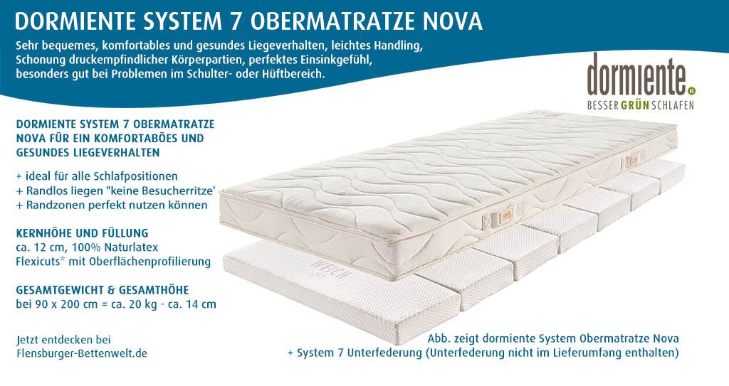 dormiente-System-7-Obermatratze-Nova-kaufen-bei-Flensburger-Bettenwelt