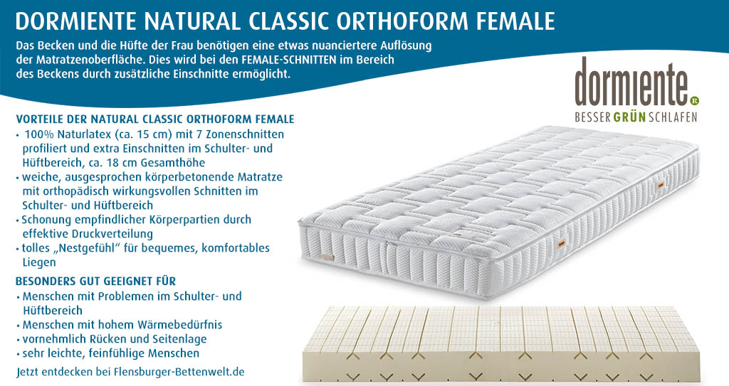 dormiente-Natural-Classic-Orthoform-FeMale-Latexmatratze-Flensburger-Bettenwelt