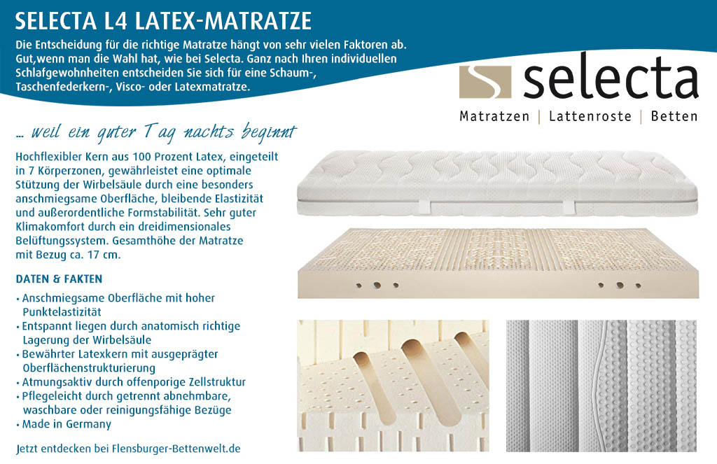 Selecta-L4-Latex-Matratze-kaufen-Flensburger-Bettenwelt