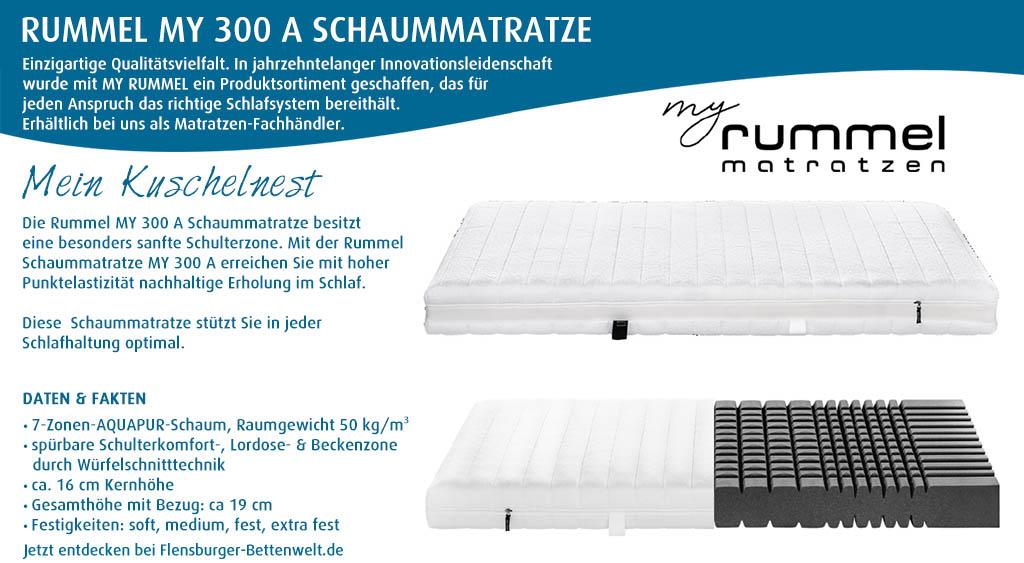 Rummel-MY-300-A-Schaummatratze-kaufen-Flensburger-Bettenwelt