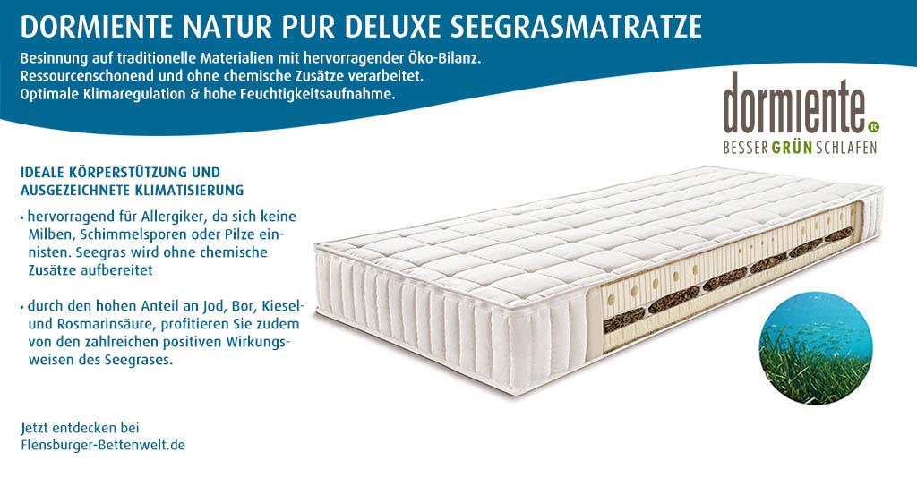 dormiente-Natur-Pur-Deluxe-Seegrasmatratze-Flensburger-Bettenwelt