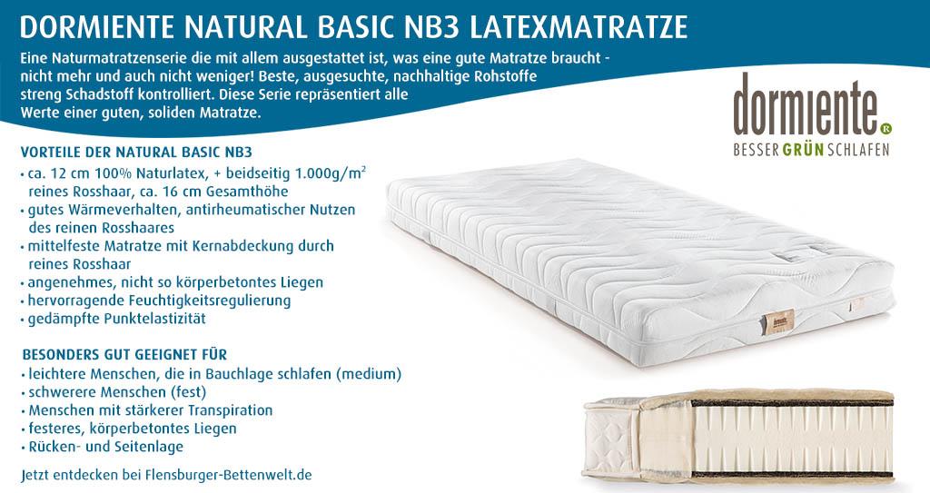 dormiente-Natural-Basic-NB3-Latexmatratze-Flensburger-Bettenwelt