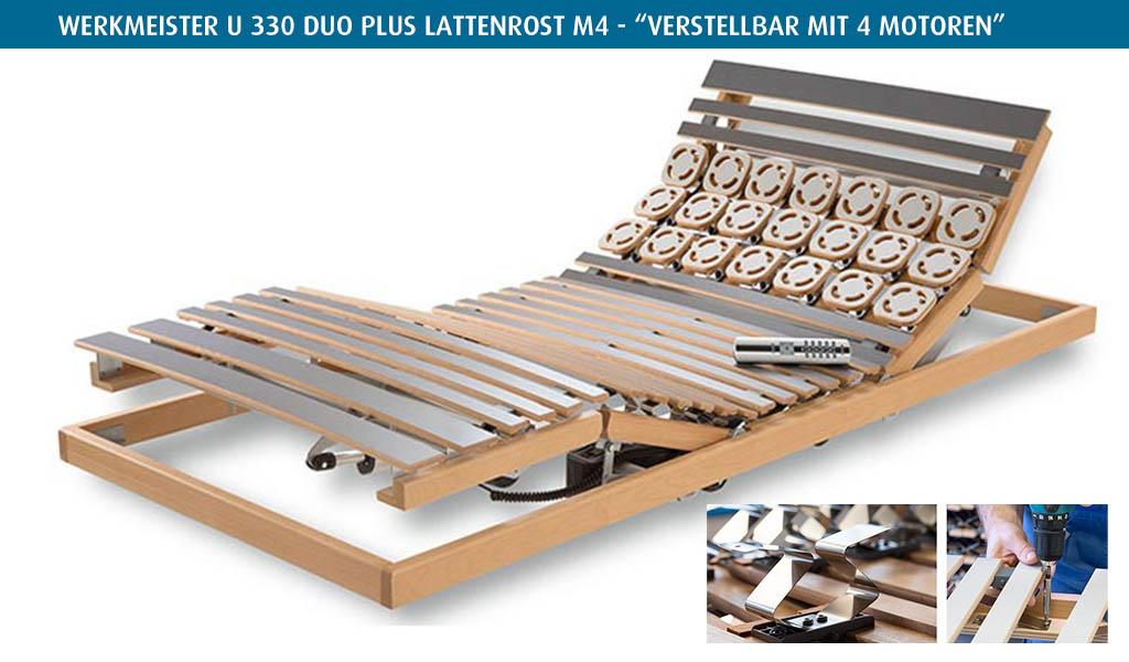 Werkmeister-U-330-Duo-Plus-Lattenrost-M4-kaufen