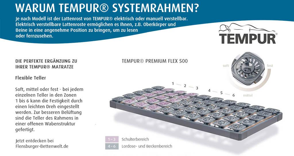 Tempur-Premium-Flex-500-Systemrahmen-Flensburger-Bettenwelt