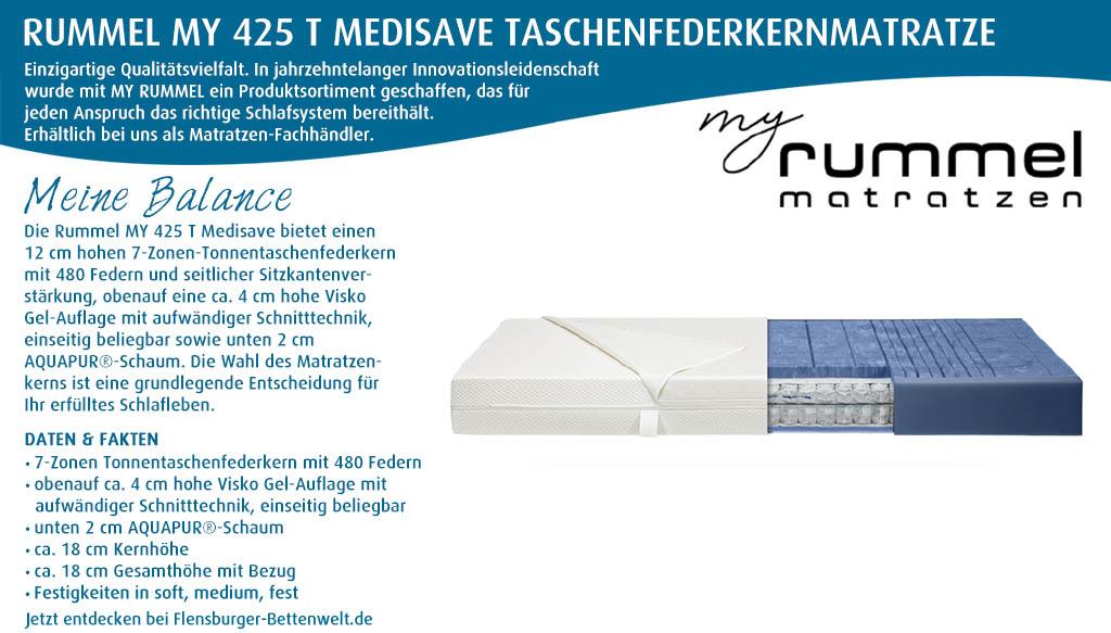 Rummel-MY-425-T-Medisave-Taschenfederkernmatratze-kaufen-Flensburger-Bettenwelt