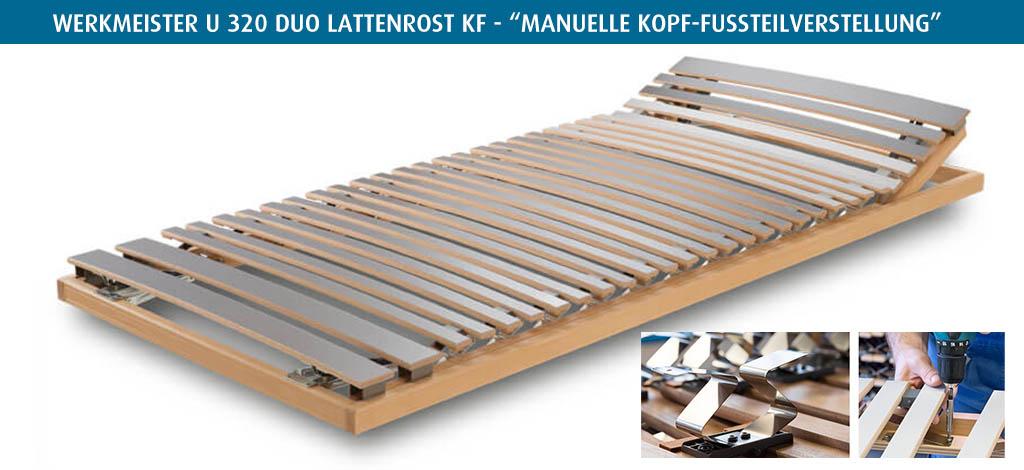 Werkmeister-U-320-Duo-Lattenrost-KF-kaufen