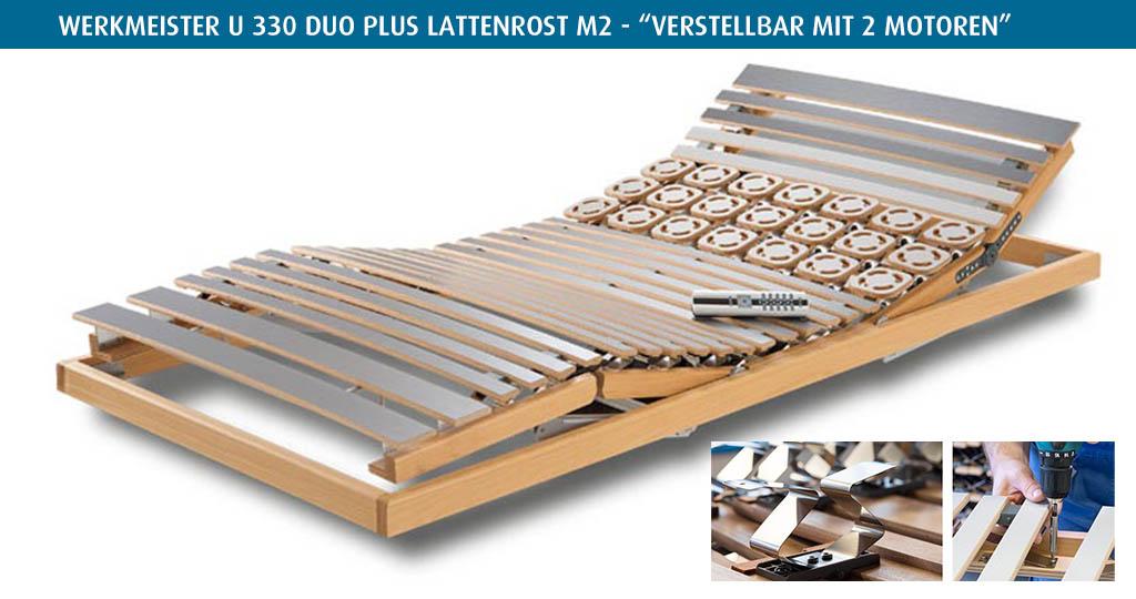Werkmeister-U-330-Duo-Plus-Lattenrost-M2-kaufen