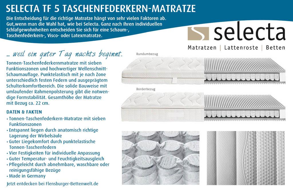 Selecta-TF5-Taschenfederkern-Matratze-kaufen-Flensburger-Bettenwelt