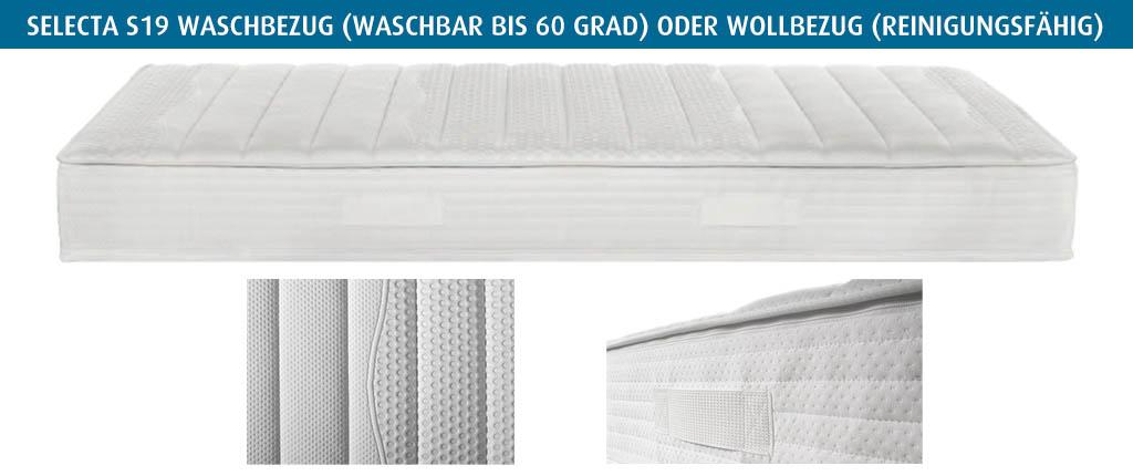 Selecta-S19-Waschbezug-waschbar-oder-Wollbezug-reinigungsfaehrig