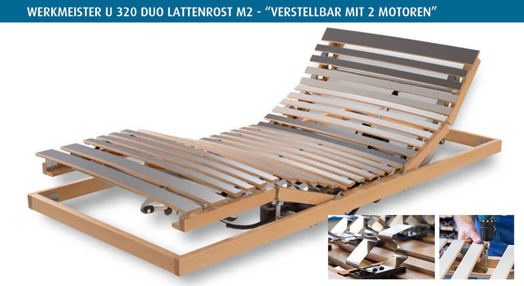 Werkmeister-U-320-Duo-Lattenrost-elektrisch-M2-kaufen