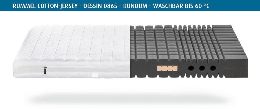 Rummel-MY-500-Matratzenbezug-Cotton-Jersey-Dessin-0865-rundum-waschbar-bis-60-Grad