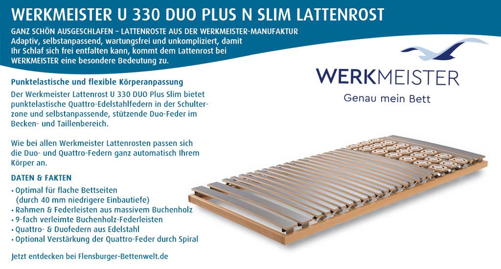 Werkmeister-U-330-Duo-Plus-Slim-Lattenrost-kaufen-Flensburger-Bettenwelt