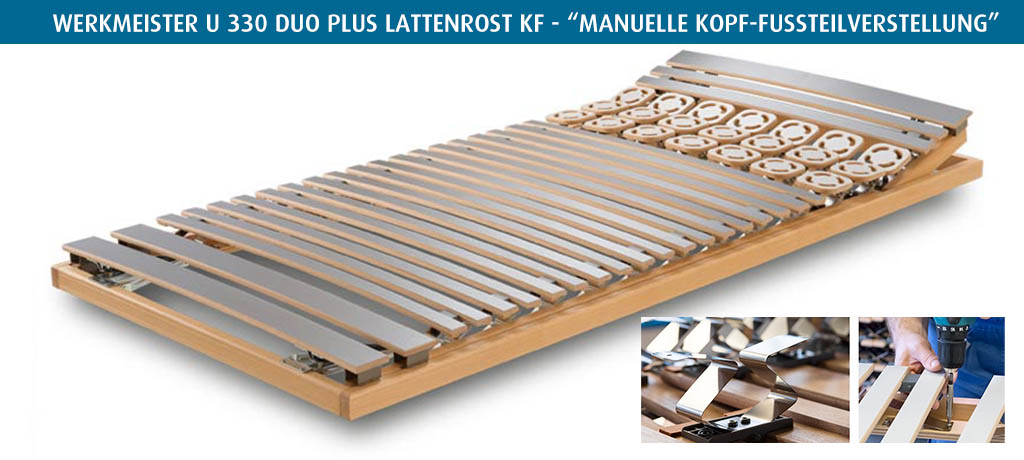 Werkmeister-U-330-Duo-Plus-Lattenrost-KF-kaufen