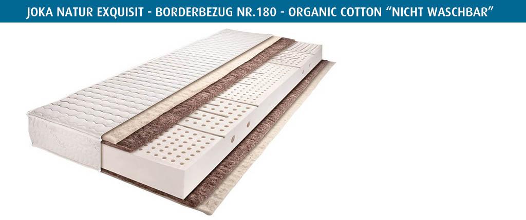 Joka-Rosshaarmatratze-Exquisit-Borderbezug-Nr-180-nicht-waschbar-selbstreinigend