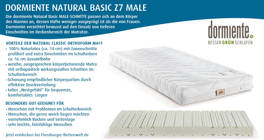 dormiente-Natural-Basic-Z7-Male-Latexmatratze-Flensburger-Bettenwelt