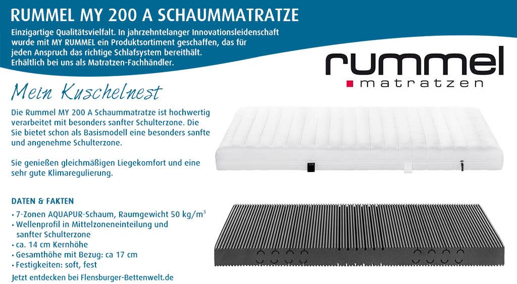 Rummel-MY-200-A-Schaummatratze-kaufen-Flensburger-Bettenwelt
