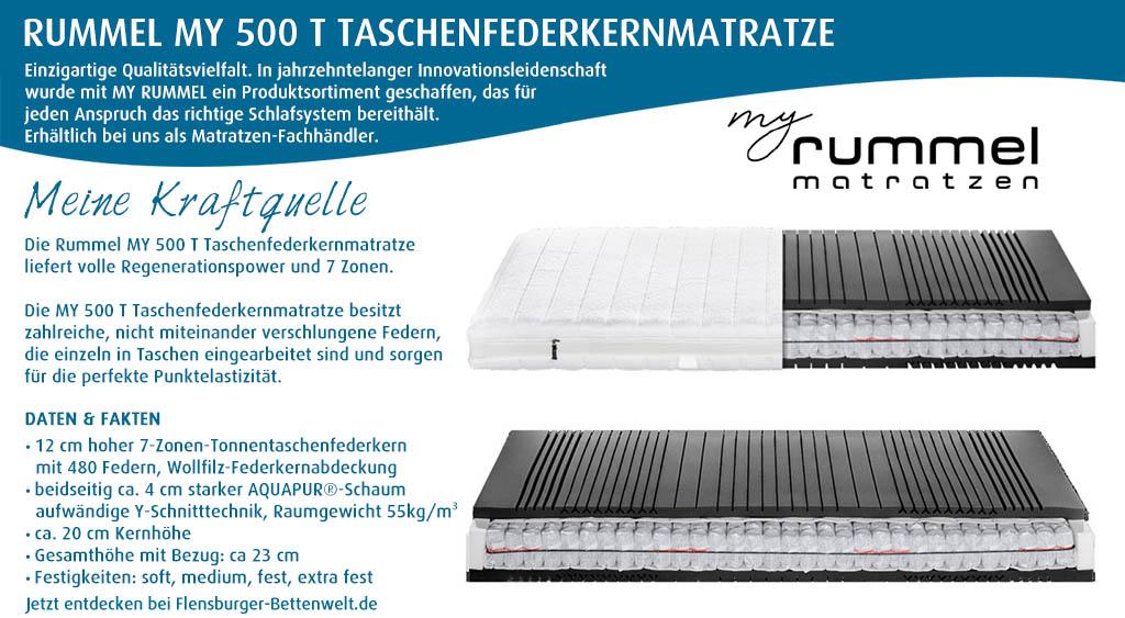 Rummel-MY-500-T-Taschenfederkernmatratze-kaufen-Flensburger-Bettenwelt