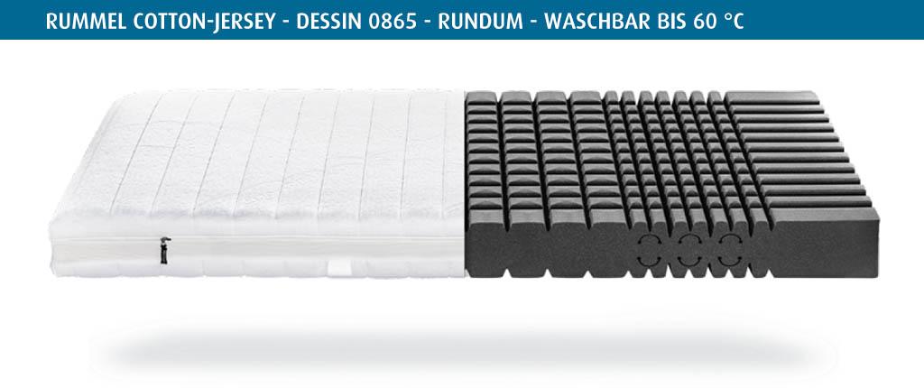 Rummel-MY-400-Matratzenbezug-Cotton-Jersey-Dessin-0865-rundum-waschbar-bis-60-Grad