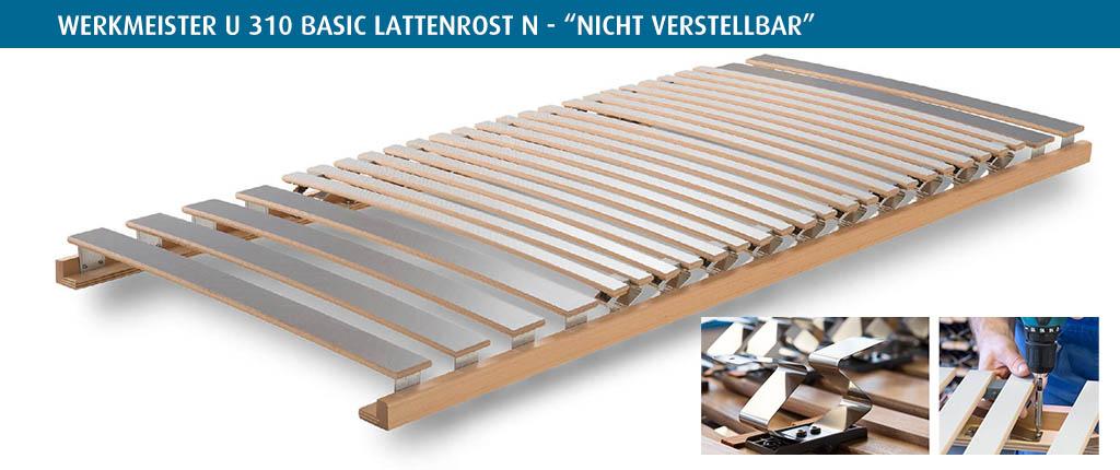 Werkmeister-U-310-Basic-Lattenrost-nicht-verstellbar
