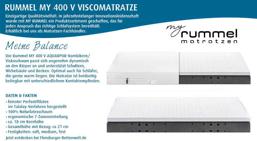 Rummel-MY-400-V-Viscomatratze-kaufen-Flensburger-Bettenwelt
