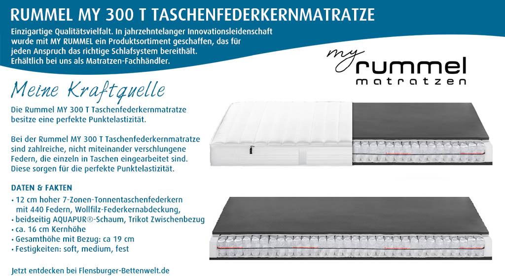 Rummel-MY-300-T-Taschenfederkernmatratze-kaufen-Flensburger-Bettenwelt