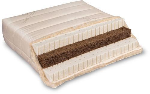 Baumberger Varia Lana Sandwich Naturlatex Matratze