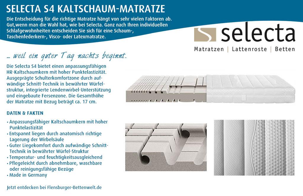 Selecta-S4-Kaltschaum-Matratze-kaufen-Flensburger-Bettenwelt