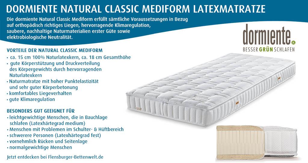 dormiente-Natural-Classic-Mediform-Latexmatratze-Flensburger-Bettenwelt