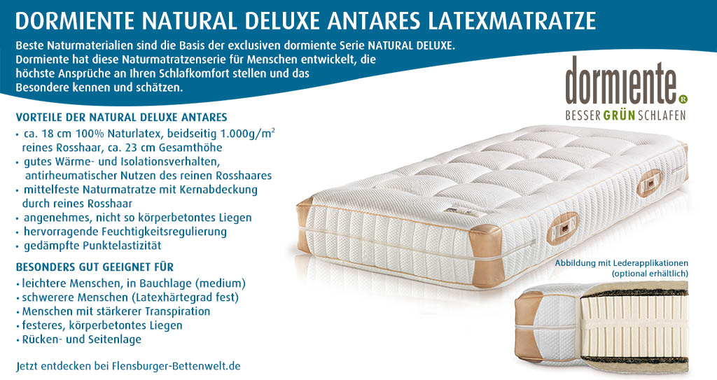 dormiente-Natural-Deluxe-Antares-Latexmatratze-Flensburger-Bettenwelt