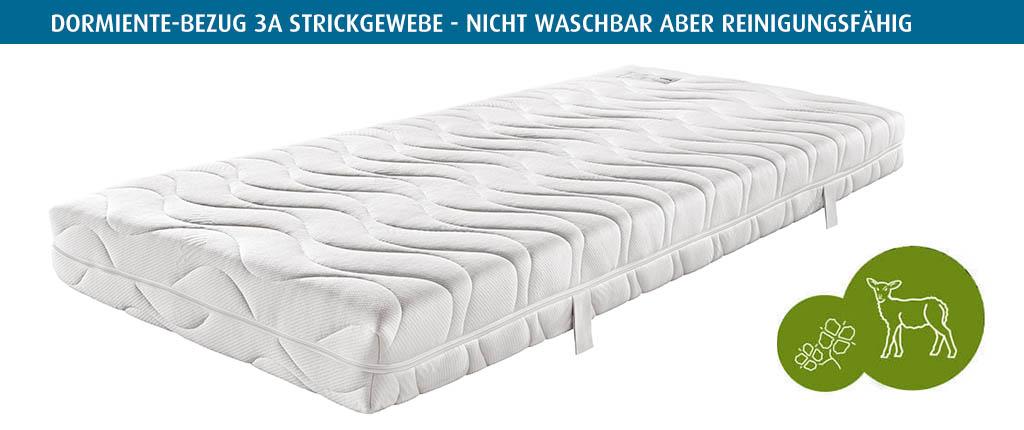 dormiente-Naturbezug-Variante-3A-Strickgewebe-nicht-waschbar-reinigungsfaehig