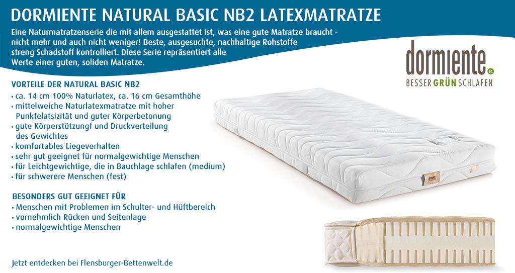 dormiente-Natural-Basic-NB2-Latexmatratze-Flensburger-Bettenwelt