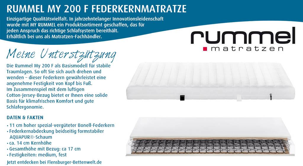 Rummel-MY-200-F-Federkernmatratze-kaufen-Flensburger-Bettenwelt
