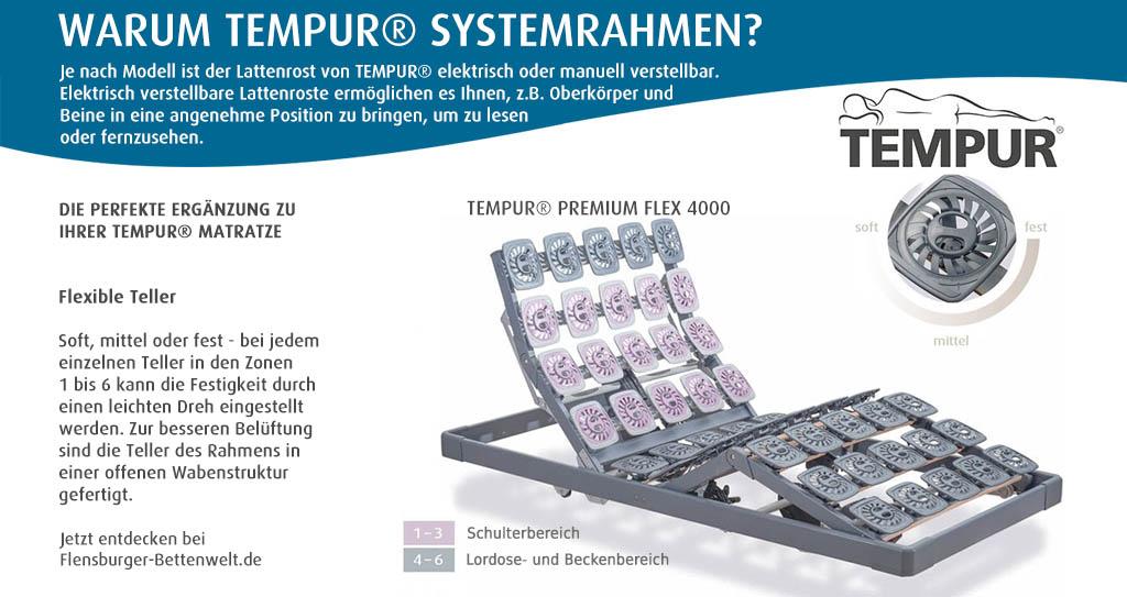 Tempur-Premium-Flex-4000-elektrischer-Lattenrost-Flensburger-Bettenwelt