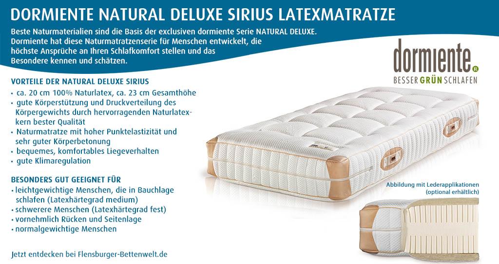 dormiente-Natural-Deluxe-Sirius-Latexmatratze-Flensburger-Bettenwelt