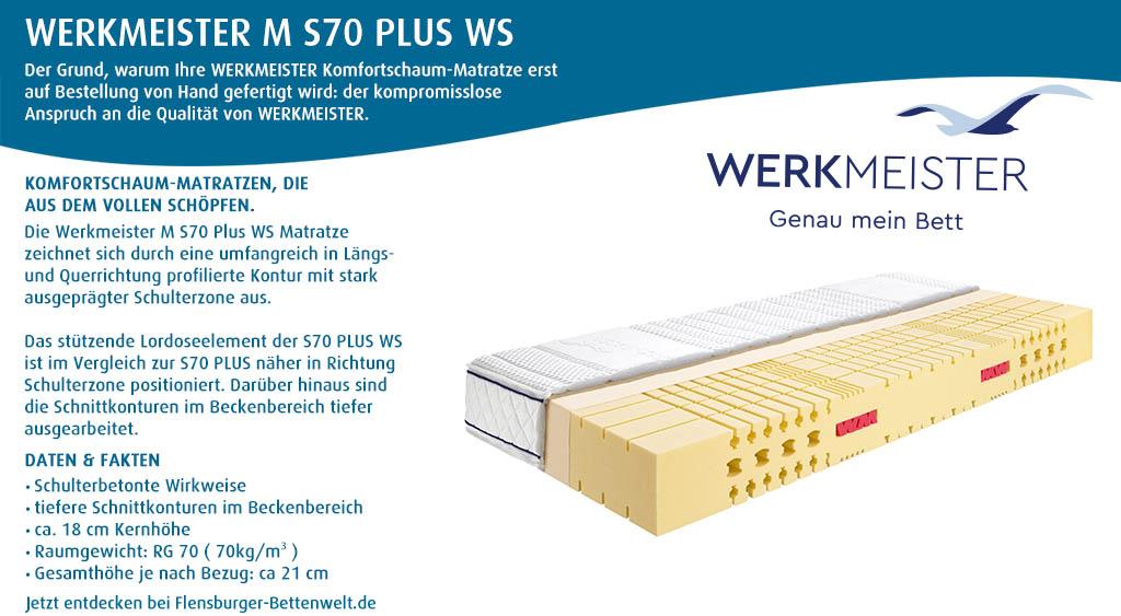 Werkmeister-M-S70-Plus-WS-Komfortschaummatratze-kaufen